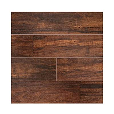BOTANICA TEAK TILE PORCELAIN 6 in. X 36 in. 8 Pieces Per Box