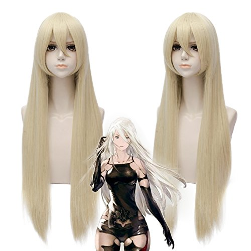 Cosplay Outfits For Sale (Japanese Anime Cosplay Wigs Blonde Color Ponytails Halloween Costume Party Daily Hair 30 Inches)