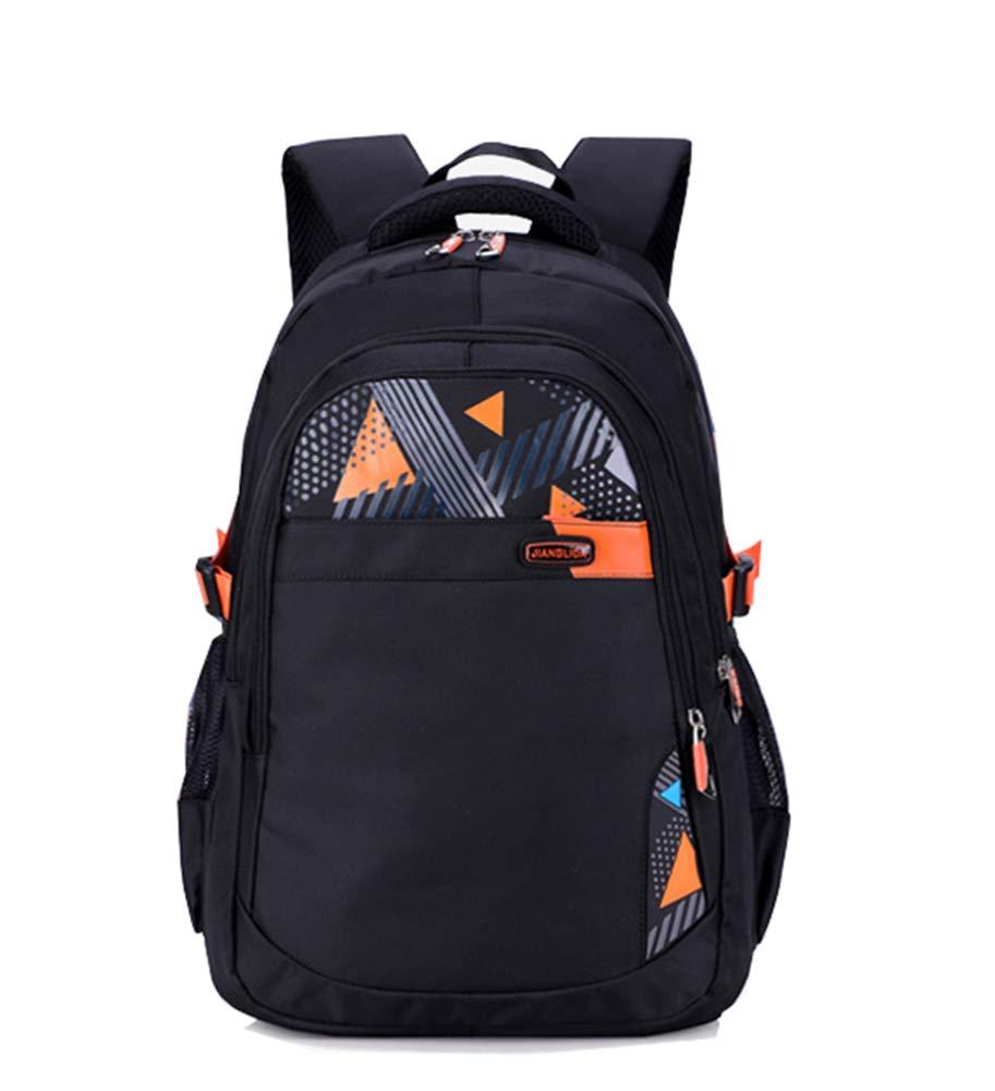 Cadeaux Backpack en Oxford Cartable Garçon Scolaire Ecole Loisir Voyage Sac collégien Bleu