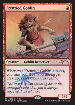 Ravnica Foil MTG City of Guilds Frenzied Goblin
