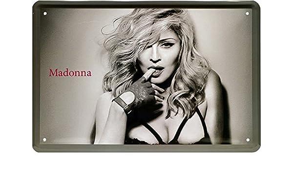Sexy Madonna - The Pop Queen Cartel de chapa 20 x 30 Retro ...