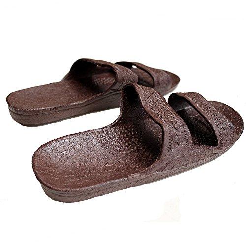 Sandalo Indaco Hawaiiano Di Colore Marrone Scuro, Marca Da Surf, Marca, Taglia 10