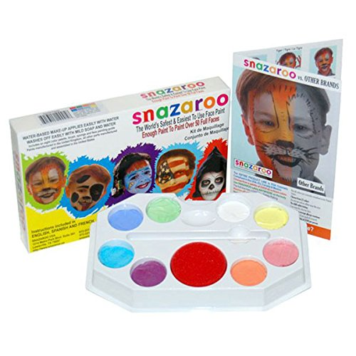 Snazaroo Painting Water Based Easy Off Non Toxic