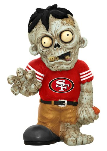 FOCO San Francisco 49ers Resin Zombie Figurine