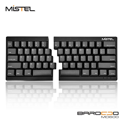 Mistel Barocco Ergonomic Split with Mechanical Keys