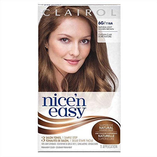 Hair Color 116A/6G Light Golden Brown 1 Kit (Pack of 3) (PACKAGING MAY VARY) ()