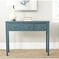 Safavieh American Homes Collection Cindy Slate Teal Console Table