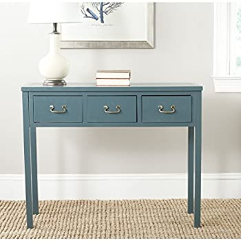 Safavieh American Home Collection Cindy Slate Teal Console Table
