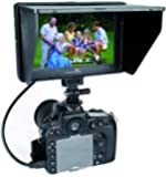 CameraPlus - CP-DC-70 Clip-on Color TFT LCD Monitor HDMI AV Input for Camera