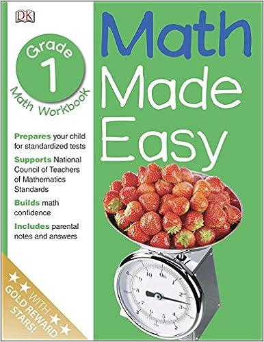 Math Made Easy 1st Grade Workbook Ages 6 7 Sue Phillips Sean