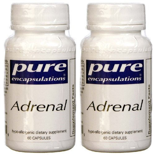 Surrénale - Pure Encapsulations - 60 gélules (Pack de 2)
