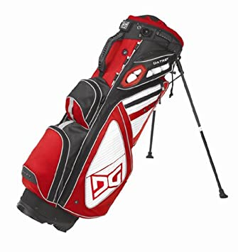 Amazon.com: Datrek 2012 Sabre Golf Stand Bag (Red): Sports ...