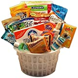 Away From Home Snacks and Essentials Care Package in Mini Laundry Gift Basket Review