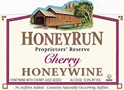 NV HoneyRun Winery Cherry Honeywine 750 mL Wine