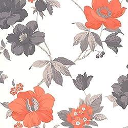 Graham & Brown 32-454 Superfresco Easy Eden Wallpaper, Orange