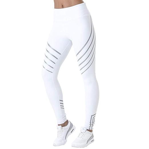 YyZCL Leggings de Yoga Entrenamiento de Las Mujeres Leggings ...