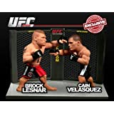 Round 5 UFC Versus Series 2 LIMITED EDITION Action Figure 2Pack Brock Lesnar Vs. Cain Velasquez UFC 121