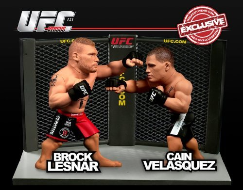(Round 5 UFC Versus Series 2 LIMITED EDITION Action Figure 2Pack Brock Lesnar Vs. Cain Velasquez UFC 121)