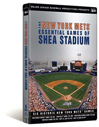5635eee3545 Amazon.com  The New York Mets Essential Games Of Shea Stadium  Tom ...