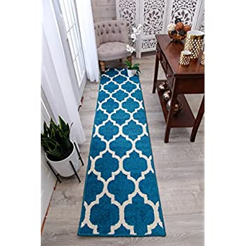 Amazon Com New Fashion Luxury Morrocan Trellis Runners