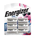 Health & Personal Care : Energizer 123 Lithium Batteries, 3V CR123A Lithium Photo Batteries (6 Battery Count) - Packaging May Vary