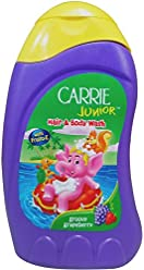 Carrie Junior Hair and Body Wash - Groovy Grapeberry, 250ml Bottle