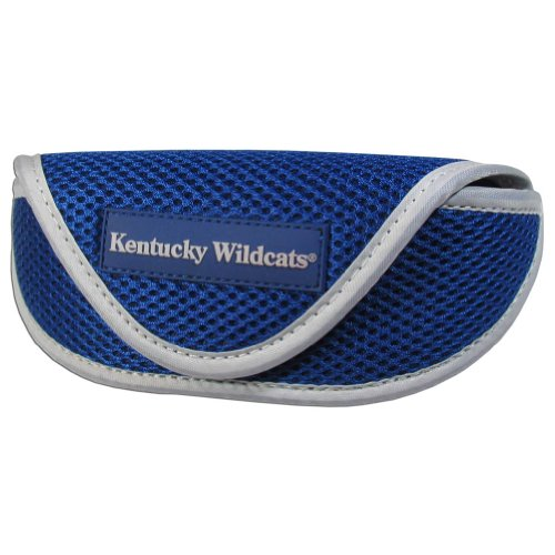 Siskiyou NCAA Kentucky Wildcats Sports Sunglasses Case, Blue (Wildcats Glass)