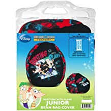 American Furniture Alliance Junior Phineas And Ferb Bursting With Plans  Print Bean Bag Cover
