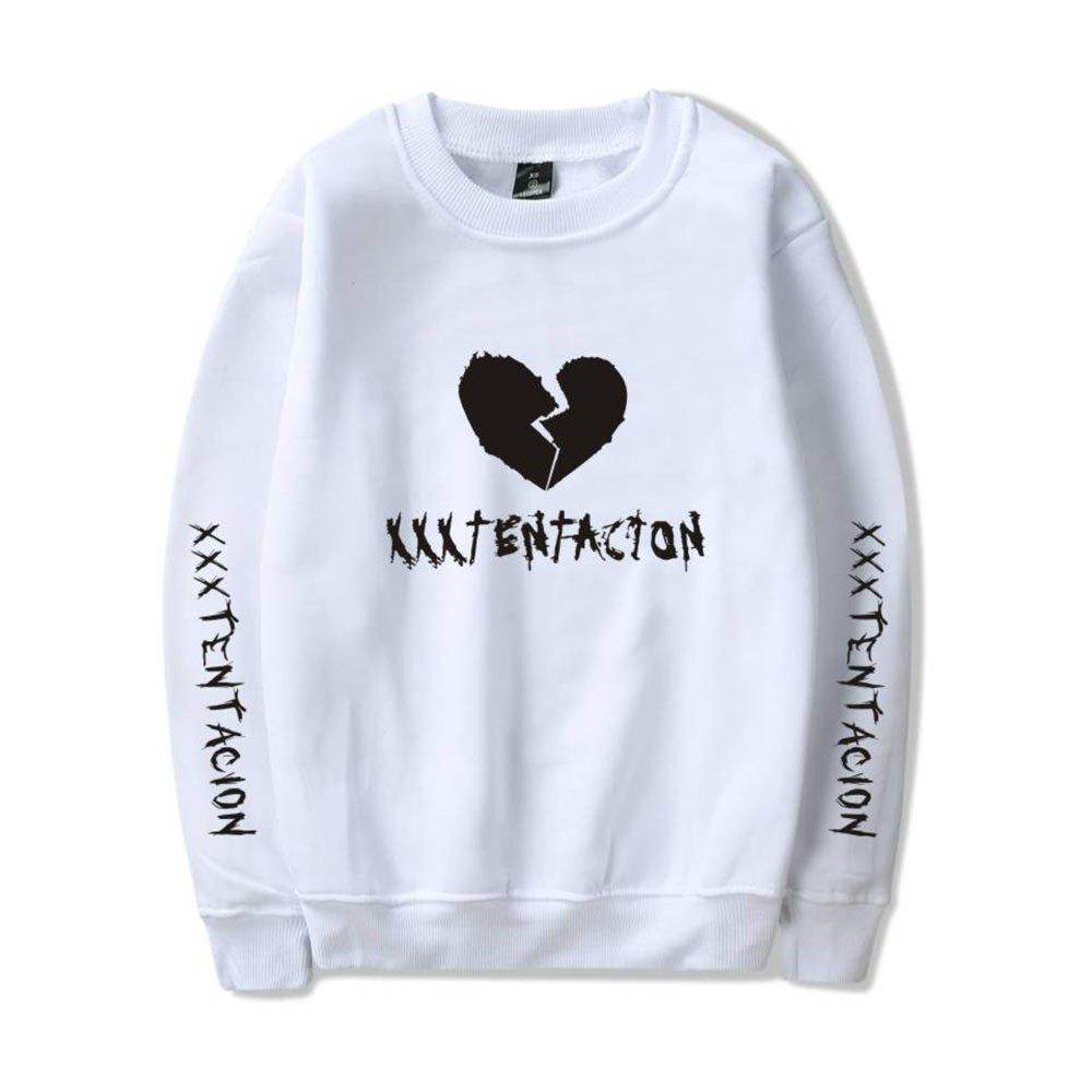 Xxxtentacion Pull Sweat Sweat-Shirt /à Capuche Unisexe RIP Xxxtentacion Rapper Hip Hop Streetwear Sweaters Sweatshirt