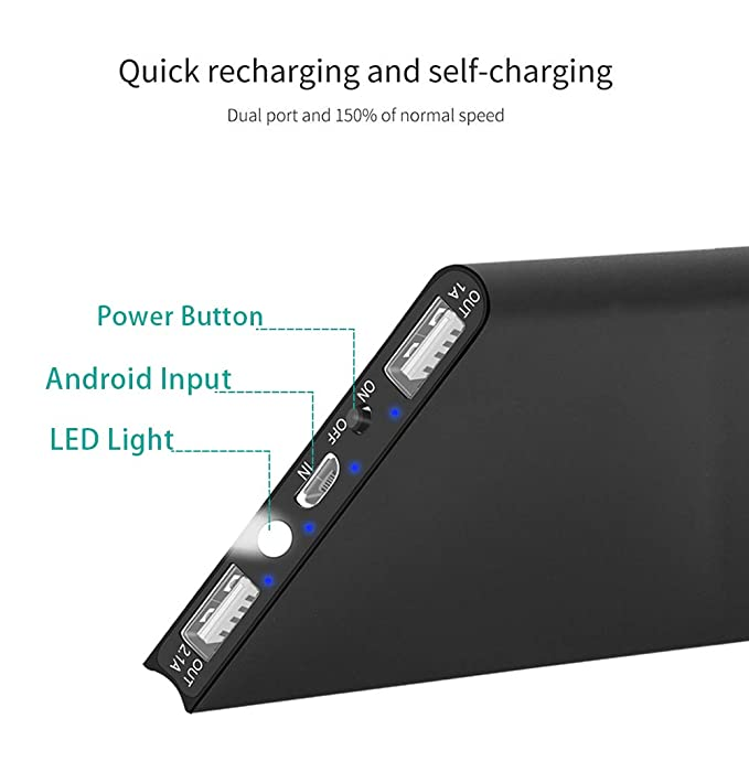 Amazon.com: KRECOO Power Bank 20000mAh Cargador Portátil ...