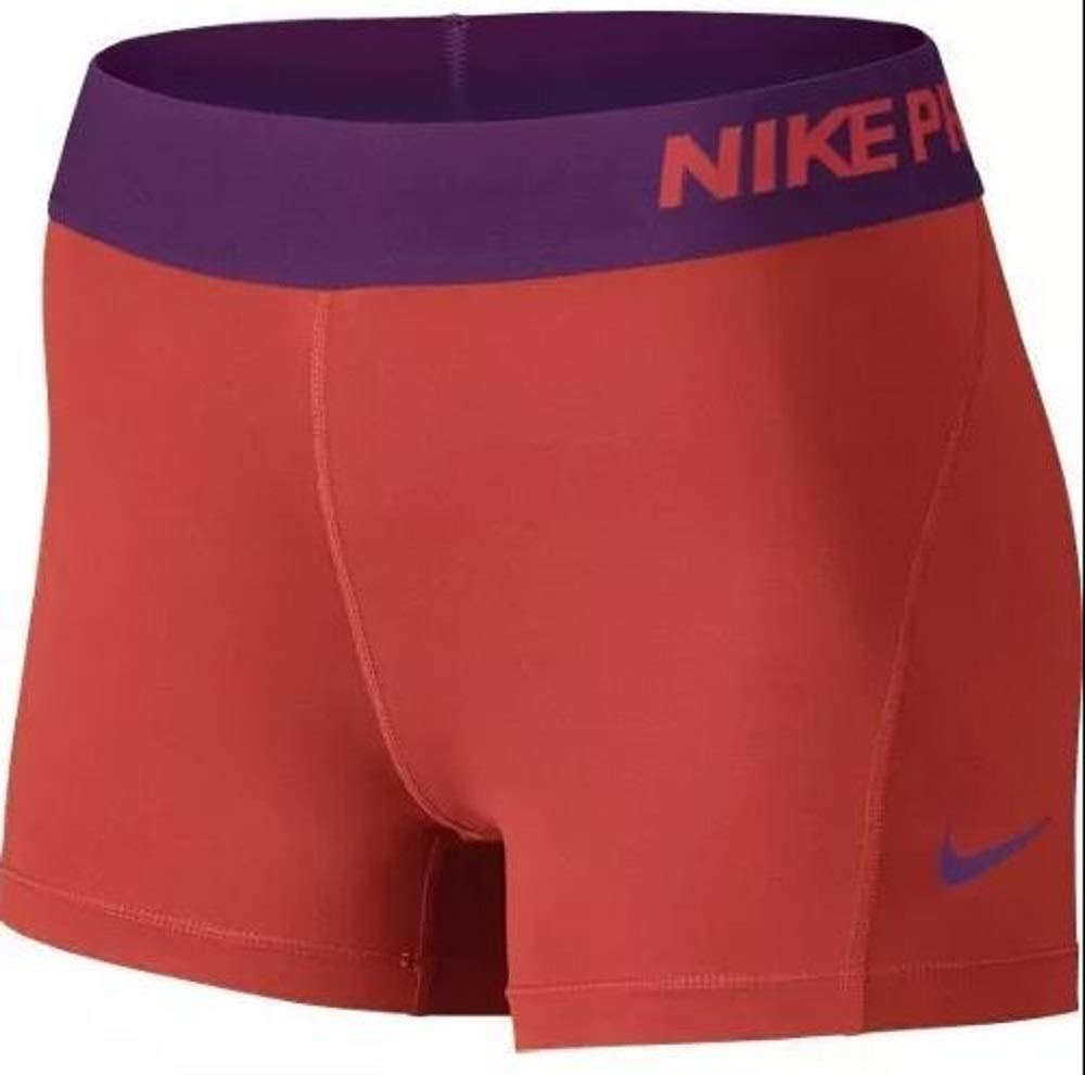 Nike Pro Cool 3'' Compression Short (Light Crimson/Mandarin, X-Small)