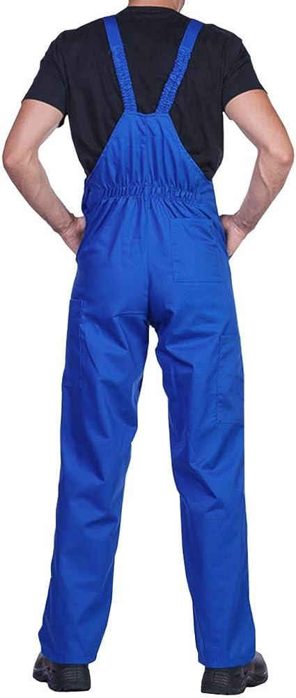 Arbeitskleidung Qualit/ät Blaumann Gr/ö/ßen S-XXXL Latzhose herren Latzhosen Verschiedene Farben Arbeit hose Arbeitshosen m/änner Arbeitshose herren Made in EU