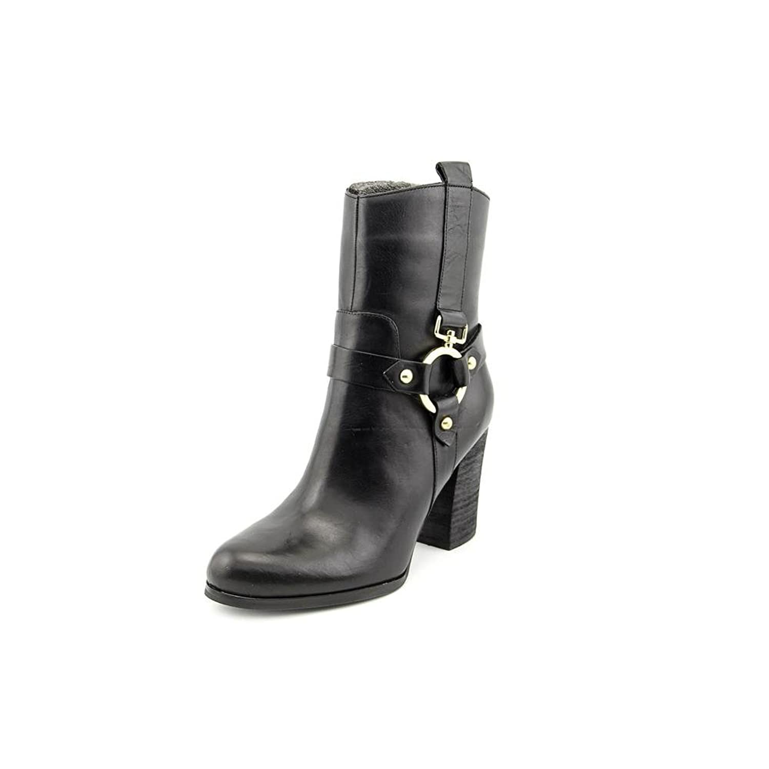 Guess Dari Leather Harness Ankle Boots