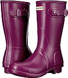 Hunter Womens Original Short Violet Rain Boot - 5 B(M) US