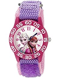 Infinity Kids' W002435 Frozen Elsa & Anna Analog Display Analog Quartz Purple Watch