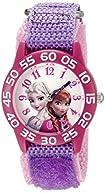 Disney Infinity Kids' W002435 Frozen Elsa & Anna Analog Display Analog Quartz Purple Watch