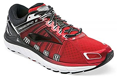 shopping outlet boutique new lifestyle Brooks Transcend 2 Men's Running Shoes, red, M 11: Amazon.co.uk ...