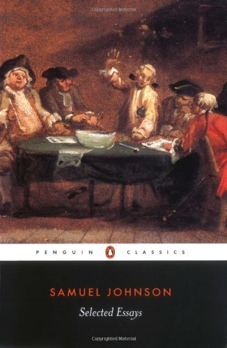 By Samuel Johnson - Selected Essays (Penguin Classics) (Revised) (2003-05-14) [Paperback] ebook