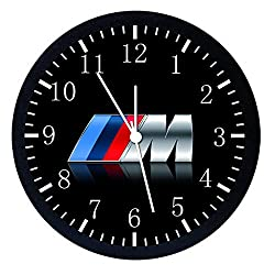 Extra Large Size 14 BMW M Wall Clock Home Office Decor or Nice For Gift W108