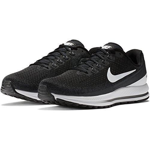 online store c91e5 1bbdb Nike Air Zoom Vomero 13 Chaussure De Course Large (2e) Noir   Blanc-