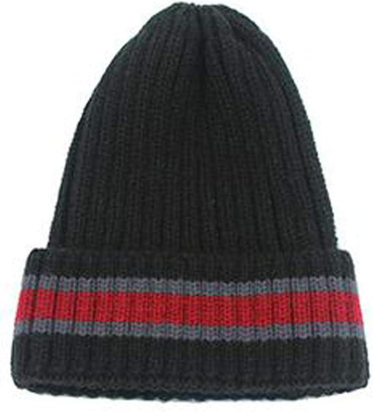 TwoCC-Sombrero de punto, color de invierno para hombres y mujeres ...