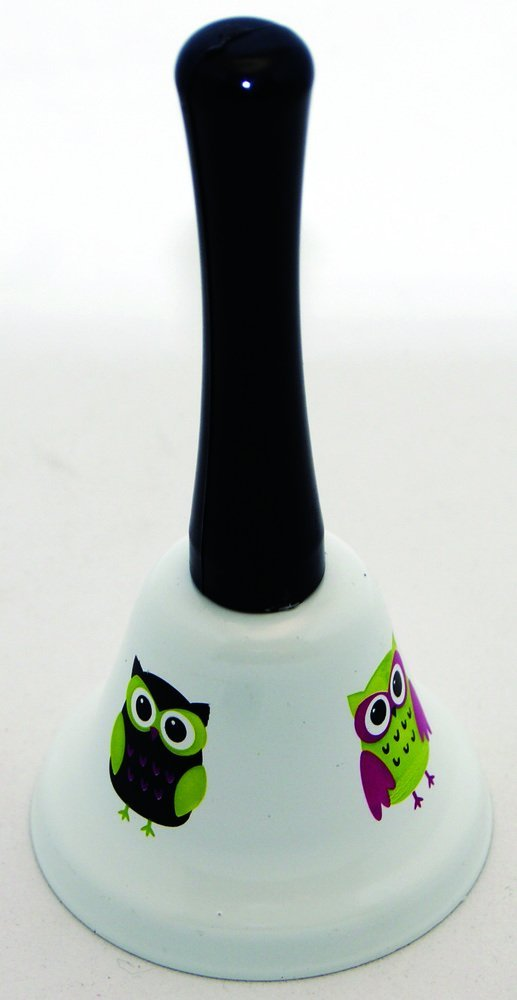 Ashley Productions Owls Hand Bell
