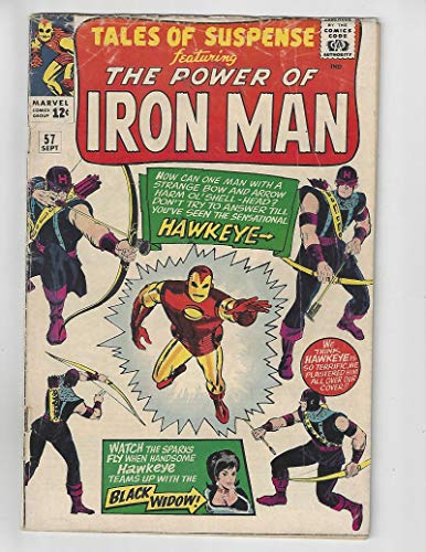(Tales of Suspense #57/Silver Age Marvel Comic Book/1st Hawkeye/VG)