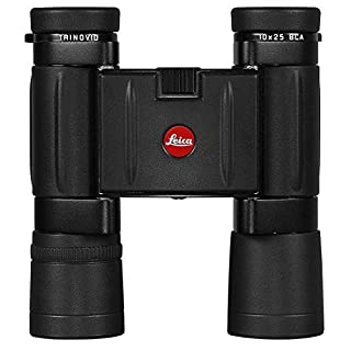 Leica Trinovid BCA 10x25 Binocular with Case Binocular, Black