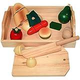 Billa24 Beluga 70056- Frutta e verdura con tagliere di legno