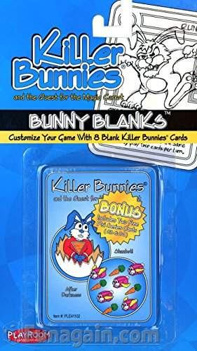 Killer Bunnies Bunny Blanks Set 2