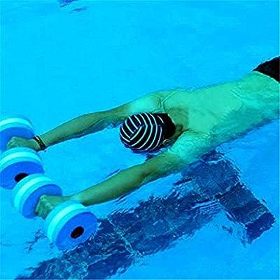 Gusspower Aqua - Par de Mancuernas de Espuma para Fitness acuático ...