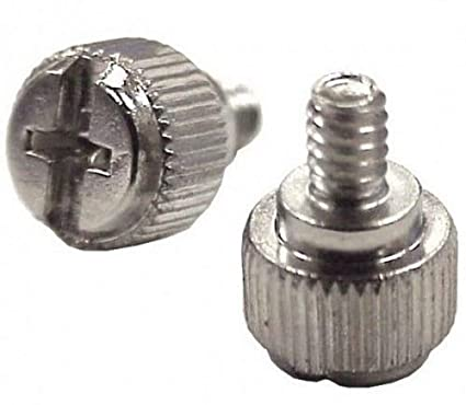 Lot of 8pcs Chrome Steel Case//Thumb Screws
