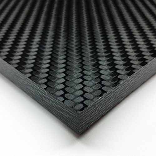 Carbon Fiber Plate Sheet - Void Free made by SKUR Composites - 0.5