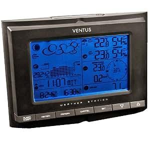 Ventus W831 - Estación meteorológica, color negro